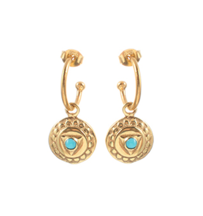 The Visudda Earrings - Gold