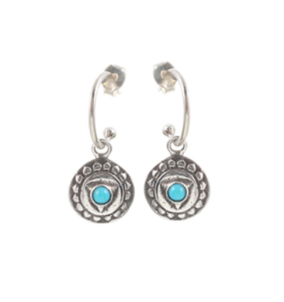 The Visudda Earrings - Silver