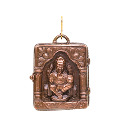 Ganesh Locket - Copper