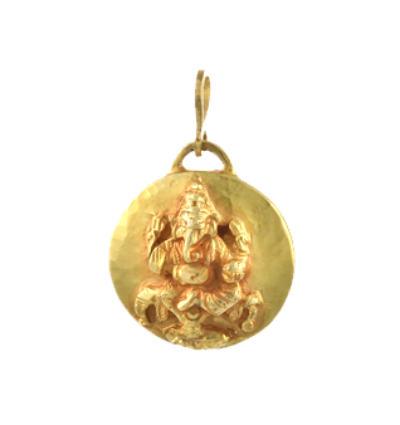 Ganeshtiki Amulet - Gold