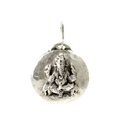 Ganeshtiki Amulet - Silver