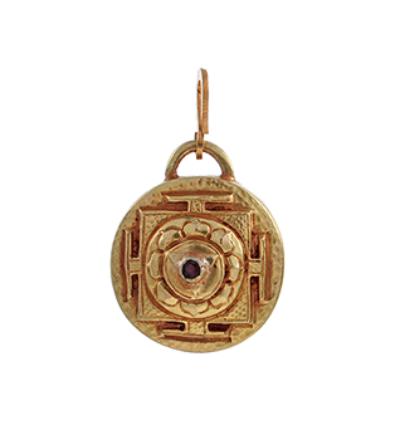 Kali Yantra - Gold