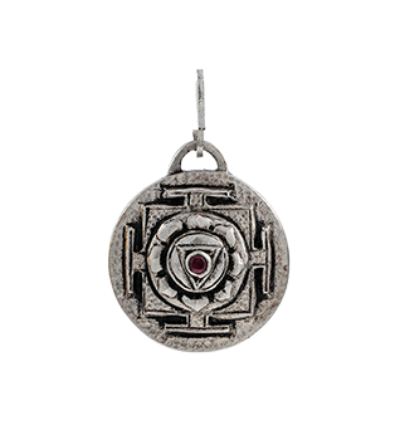 Kali Yantra - Silver