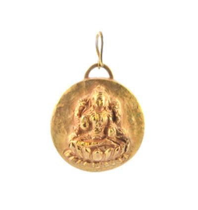 Laxmi Amulet - Gold