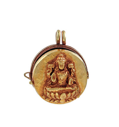 Laxmi Locket - Gold