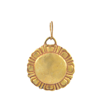 Lotus Amulet - Gold