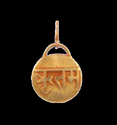 Mantra - Ritam Amulet - Gold