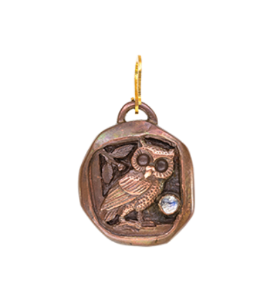Owl Totem - Copper