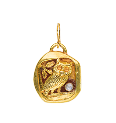 Owl Totem- Gold