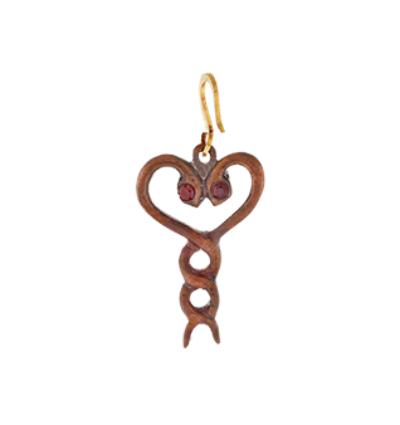 Sacred Heart Amulet - Pancha Dhatu
