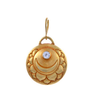 Crown Chakra Amulet - Gold