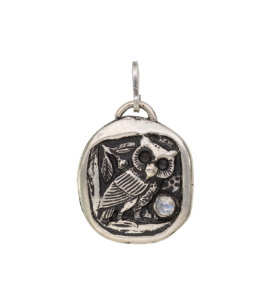 Owl Totem - Silver