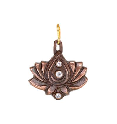 3 Star Lotus - Copper