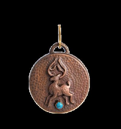 Deer Amulet - Copper