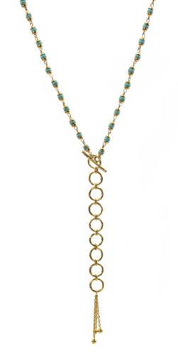 Tara Turquoise - Gold
