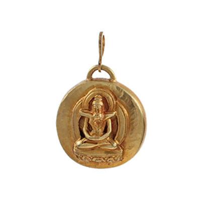 Yab-Yum Amulet - Gold