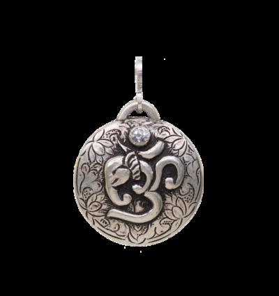 OM Ganesh - Silver