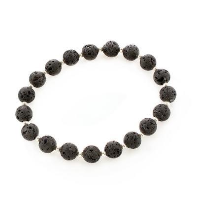 Lava Bracelet - Silver
