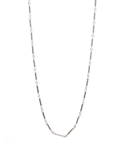 Handmade Heavy Link Chain, Silver