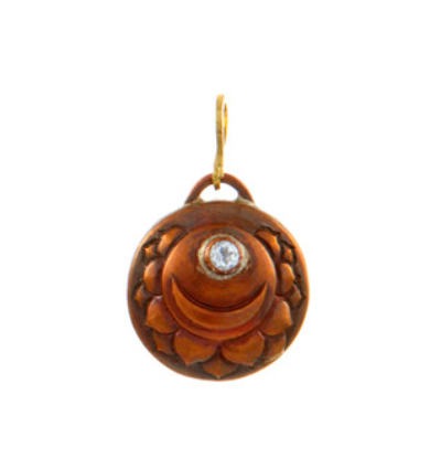 Crown Chakra Amulet - Copper