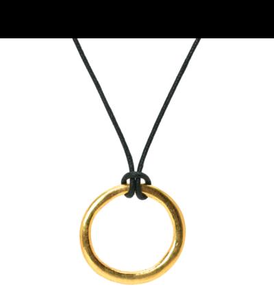 Tibetan Thockcha Amulet - Gold