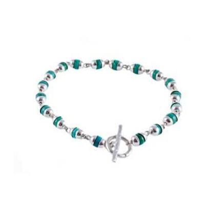 Goddess Bracelet Tara Turquoise - Silver