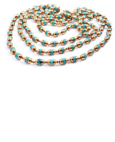 Tara Turquoise Longing- Gold