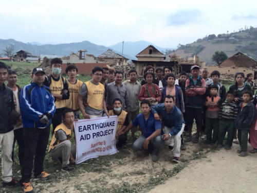 Letter of gratitude to our donors from a village in Nepal