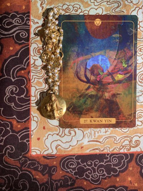 Kwan Yin, the Elk, and Imbolc